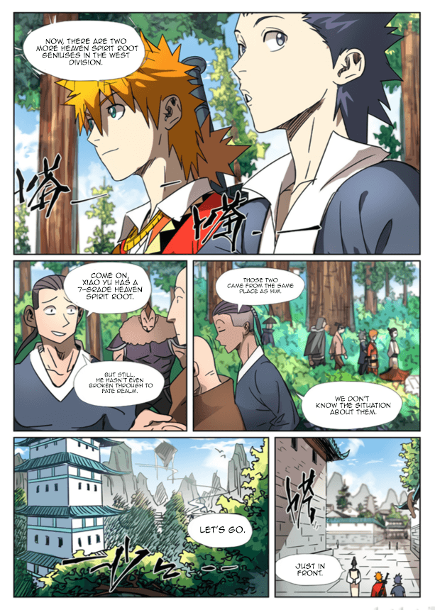 Manga Tales of Demons and Gods - Chapter 301.5 Page 4