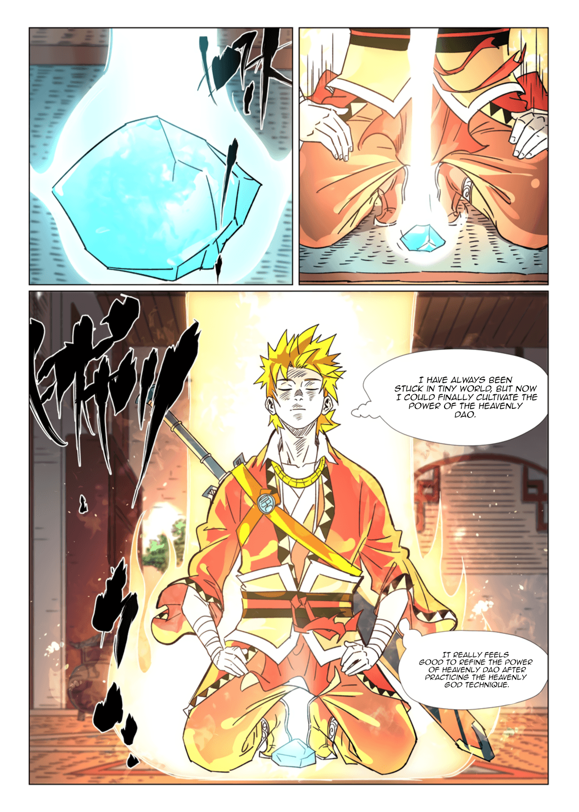 Manga Tales of Demons and Gods - Chapter 302 Page 3