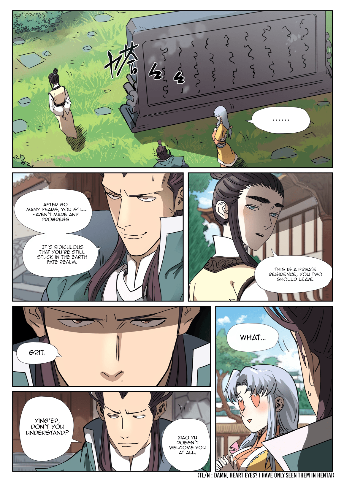 Manga Tales of Demons and Gods - Chapter 302.5 Page 10