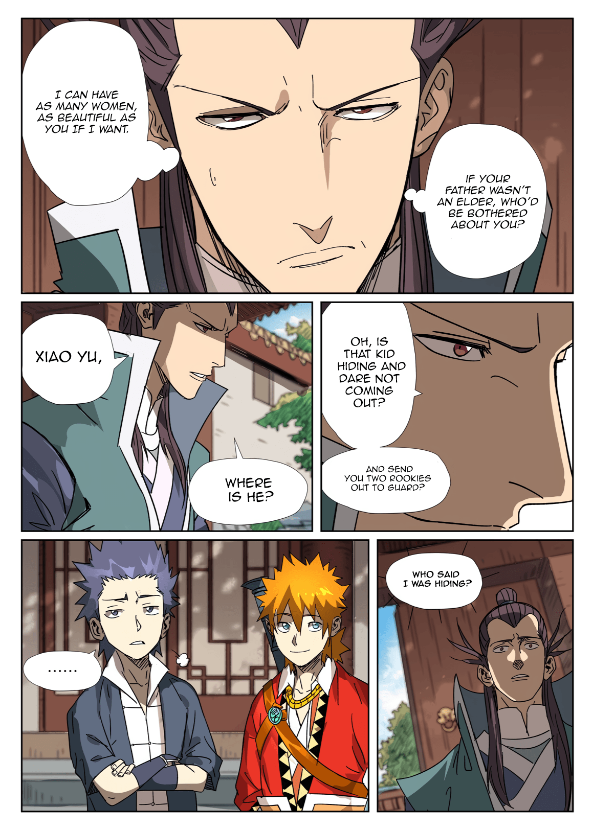Manga Tales of Demons and Gods - Chapter 302.5 Page 8