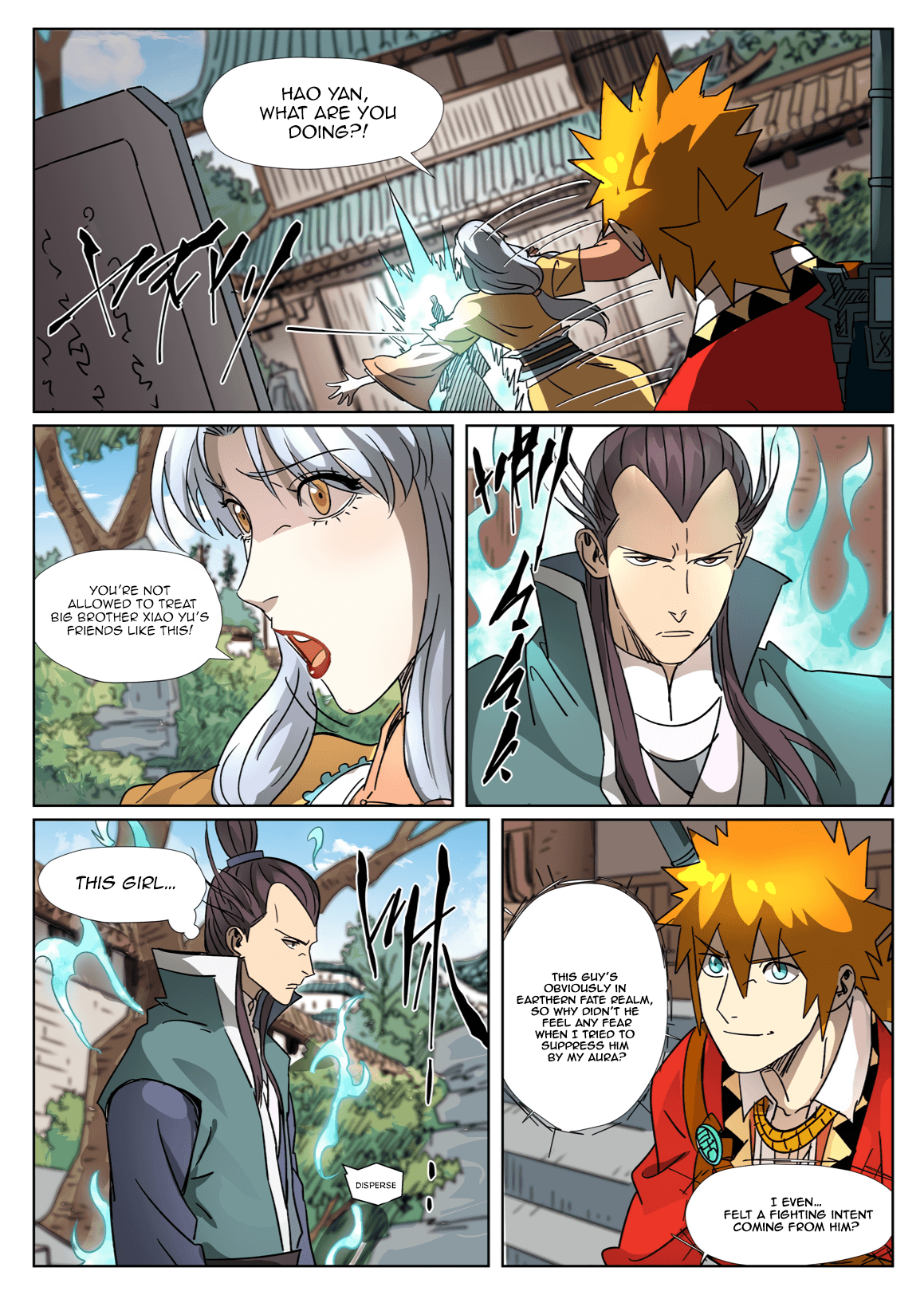 Manga Tales of Demons and Gods - Chapter 302.5 Page 4