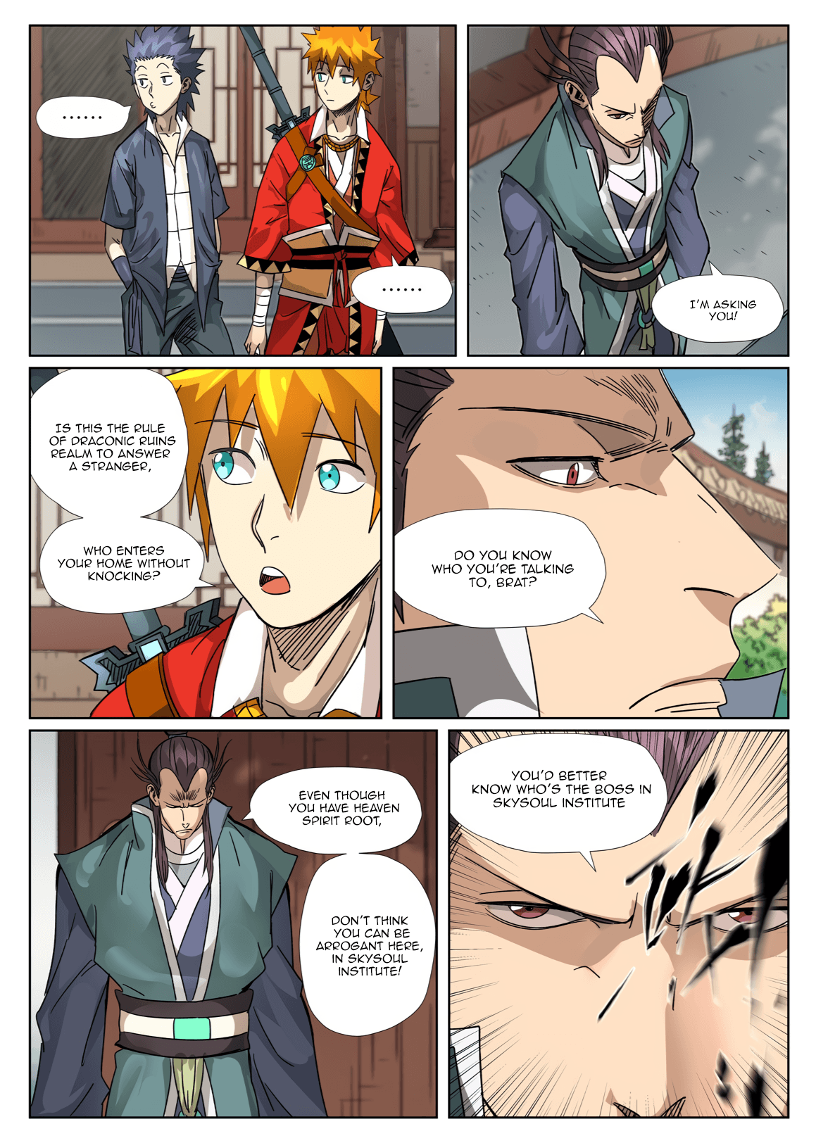 Manga Tales of Demons and Gods - Chapter 302.5 Page 2