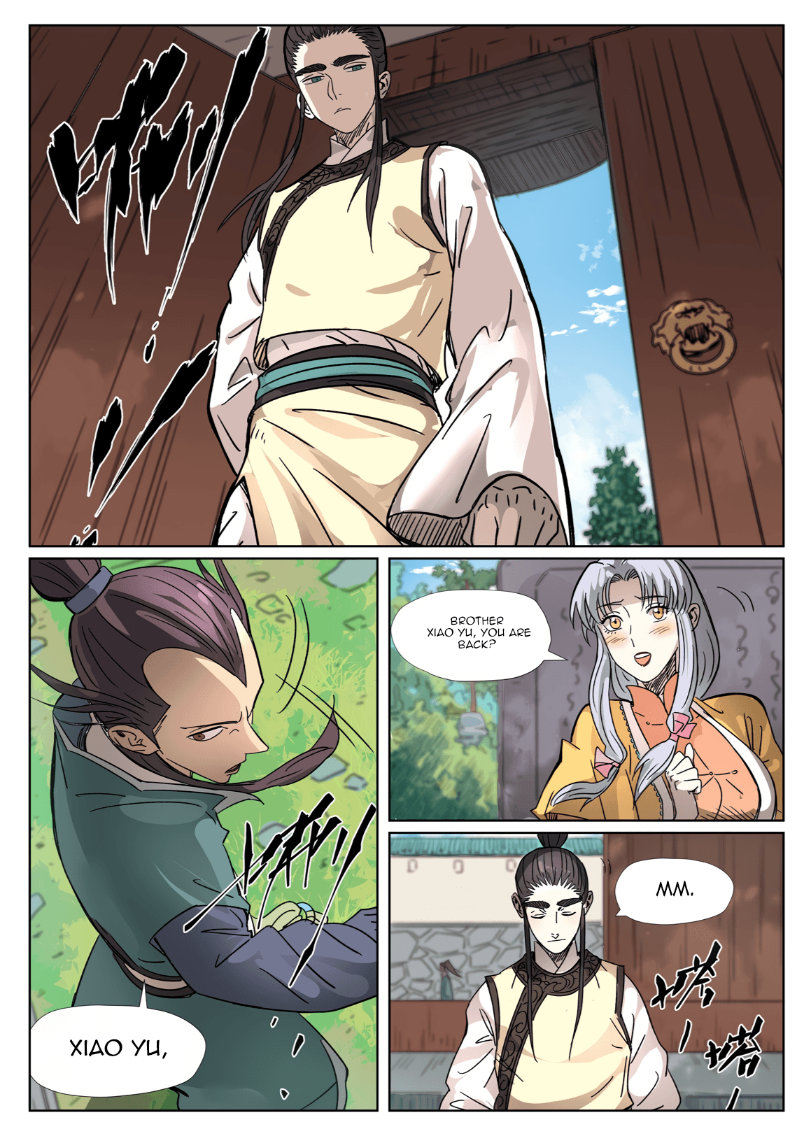 Manga Tales of Demons and Gods - Chapter 302.5 Page 9