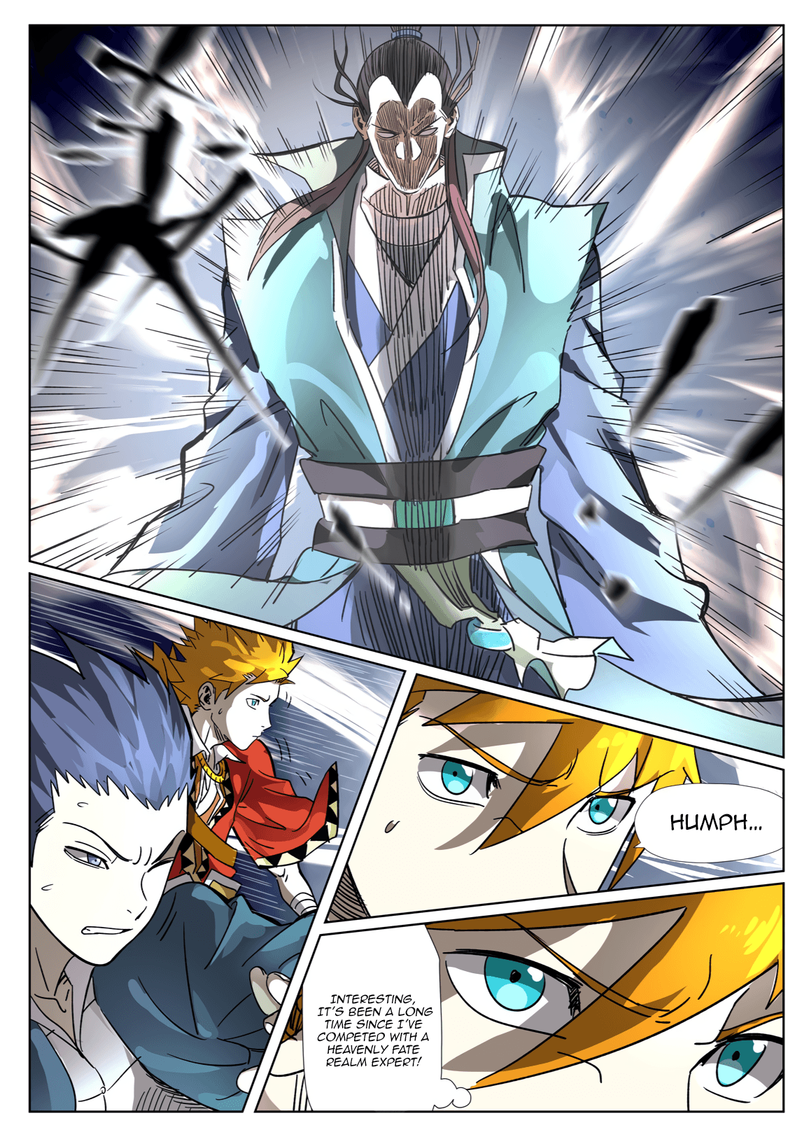 Manga Tales of Demons and Gods - Chapter 302.5 Page 3