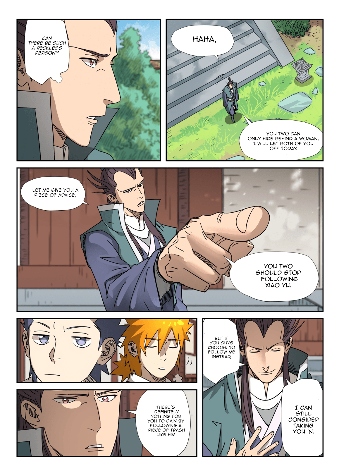 Manga Tales of Demons and Gods - Chapter 302.5 Page 5