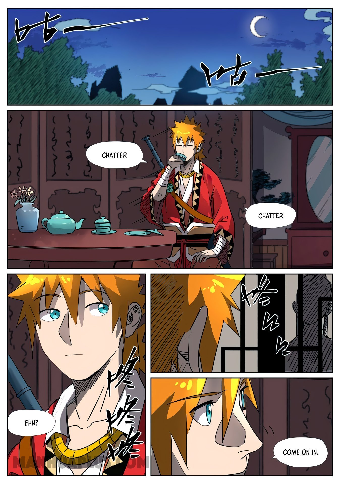 Manga Tales of Demons and Gods - Chapter 303 Page 8