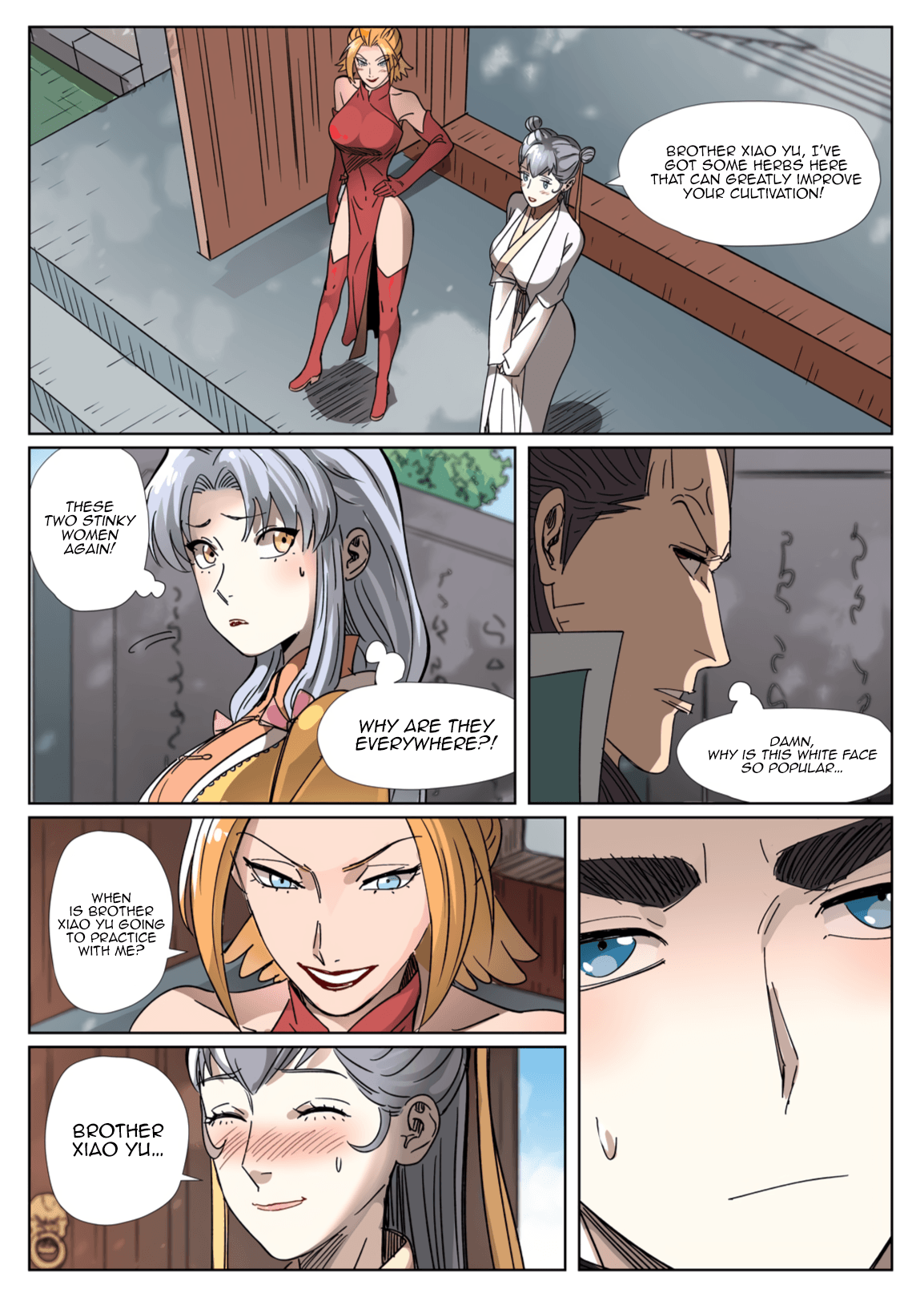 Manga Tales of Demons and Gods - Chapter 303.1 Page 3