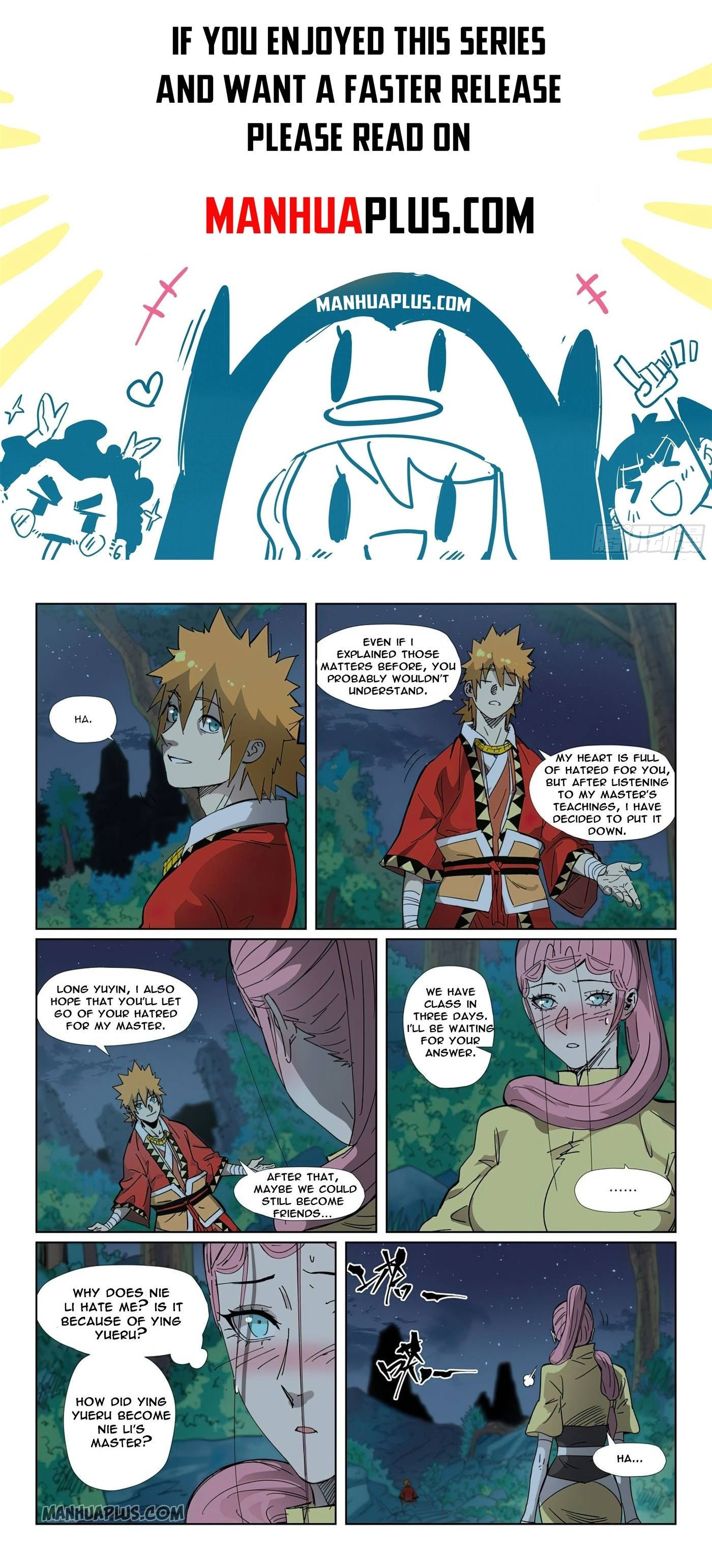 Manga Tales of Demons and Gods - Chapter 330.5 Page 1