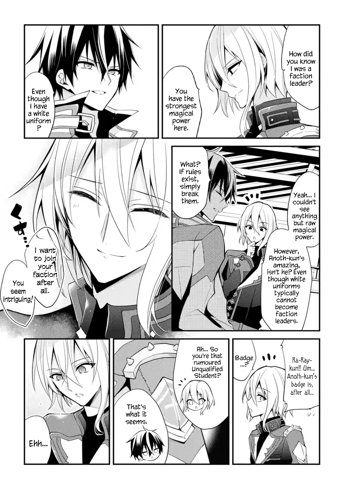 Manga The Misfit of Demon King Academy: History's Strongest Demon King Reincarnates and Goes to School with His Descendants - Chapter 13.5 Page 9