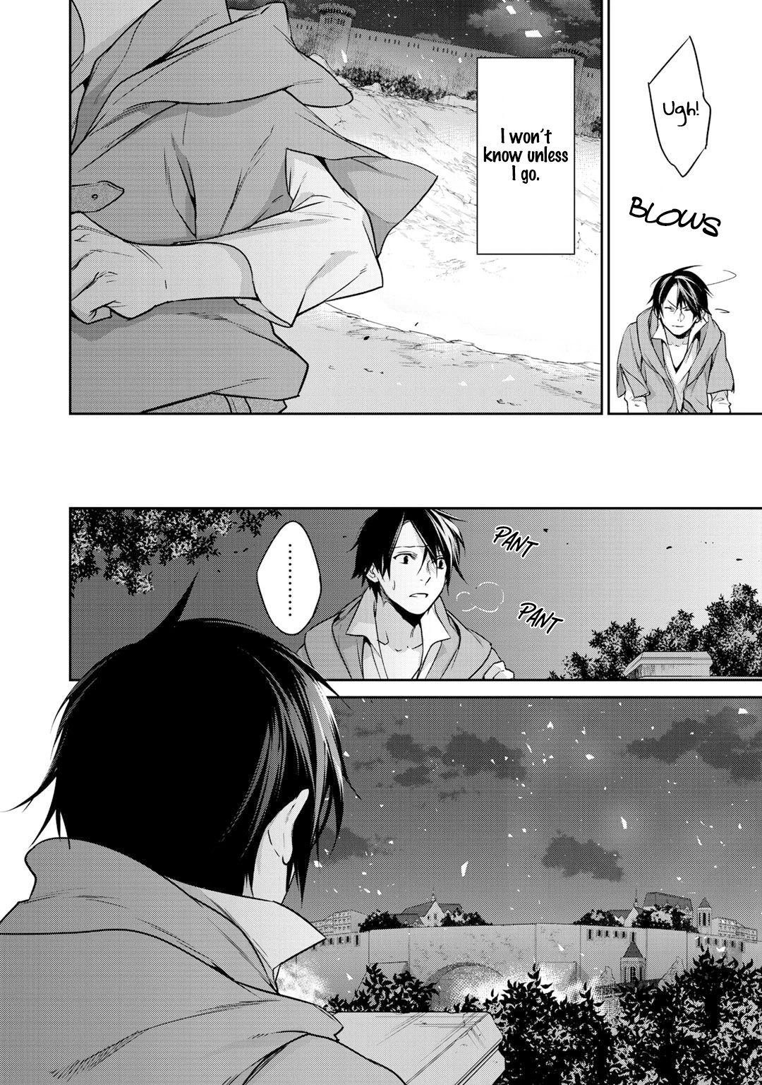 Manga Reborn as a Barrier Master - Chapter 9 Page 7