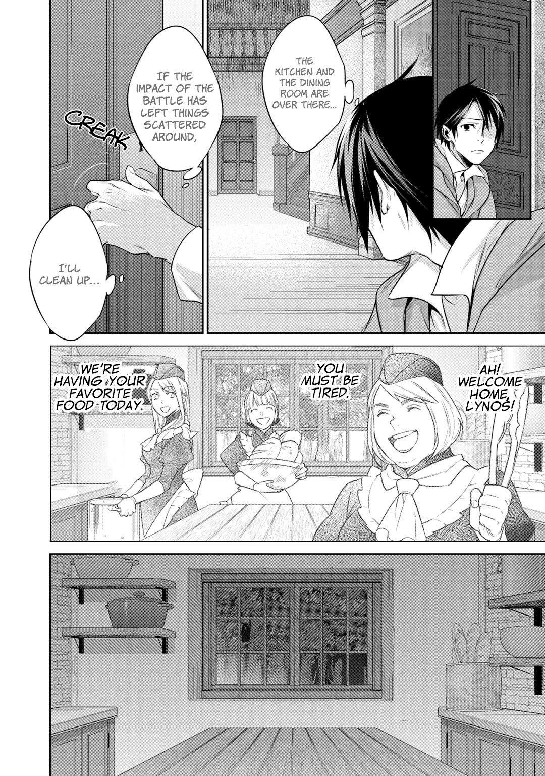 Manga Reborn as a Barrier Master - Chapter 9 Page 19
