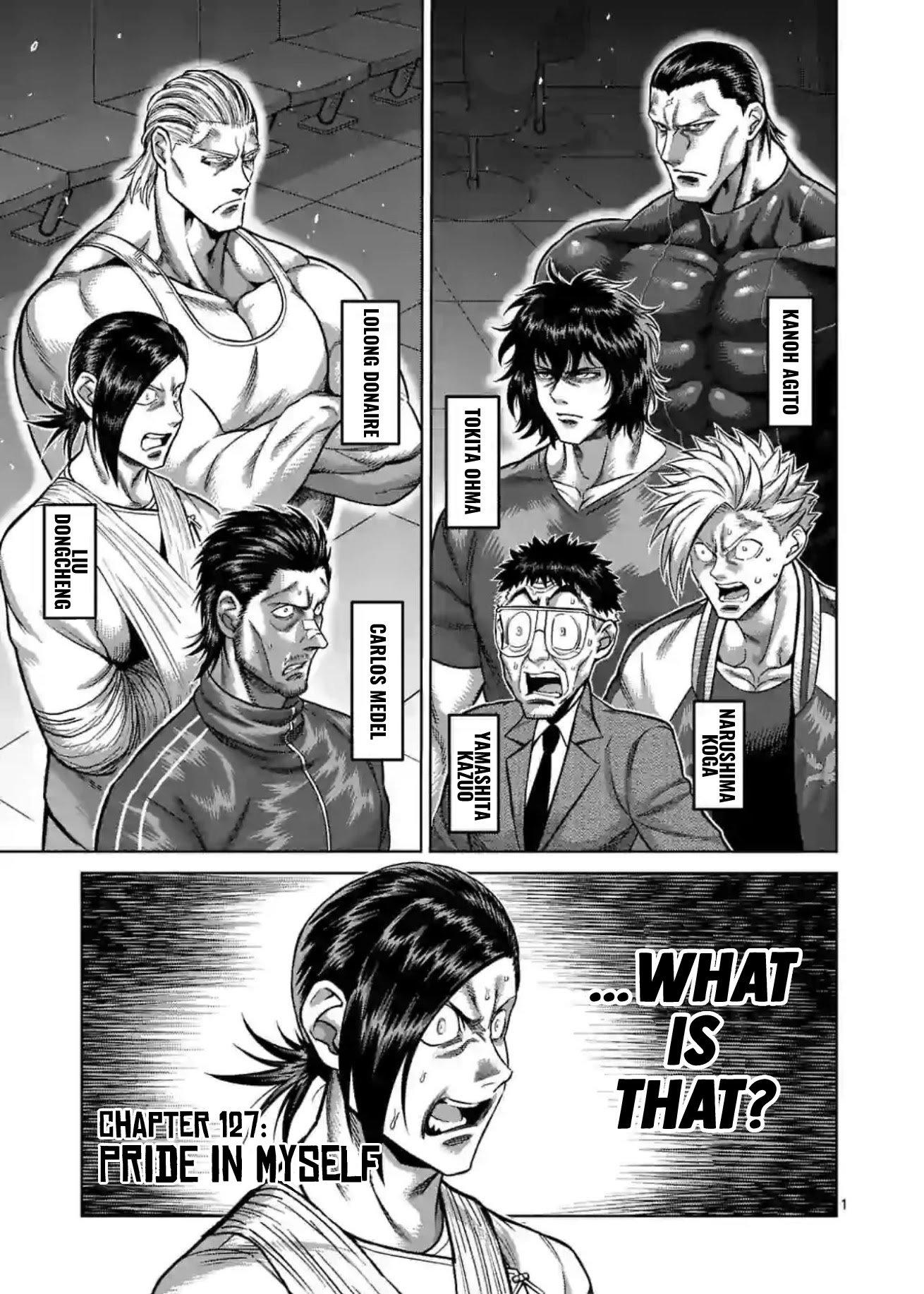 Manga Kengan Omega - Chapter 127 Page 1