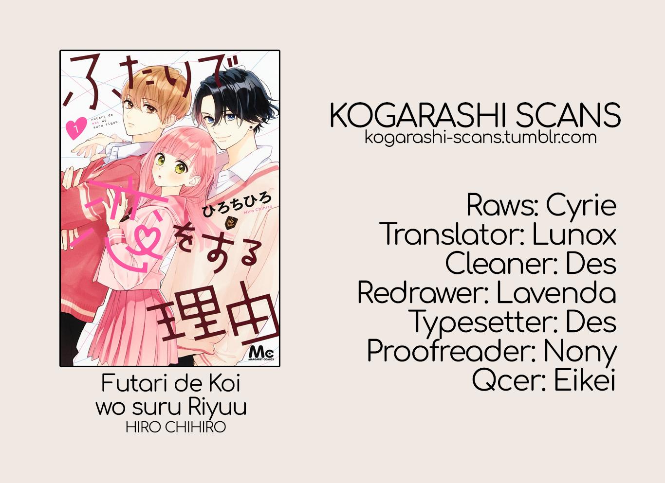 Manga Futari de Koi wo suru Riyuu - Chapter 8 Page 1