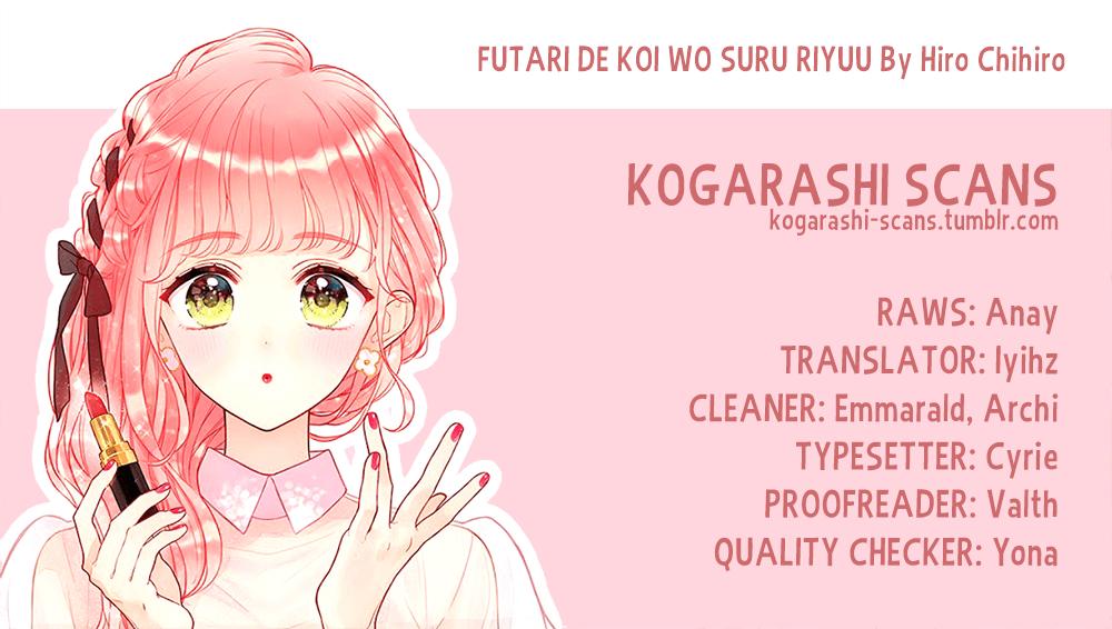Manga Futari de Koi wo suru Riyuu - Chapter 13 Page 1