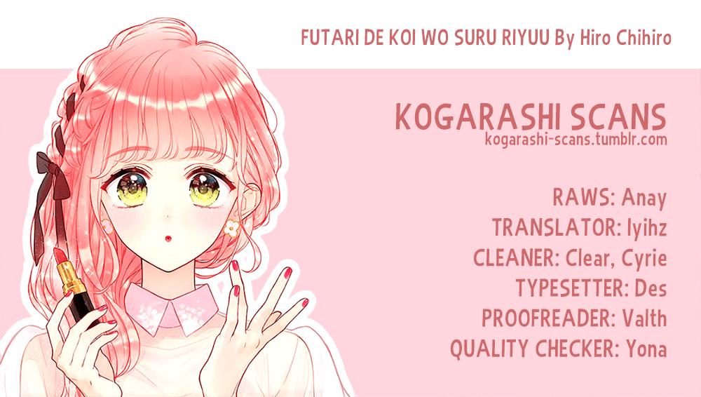 Manga Futari de Koi wo suru Riyuu - Chapter 15 Page 1