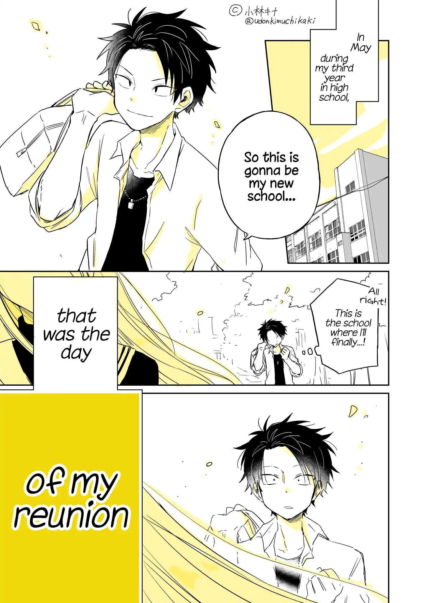 Manga About a Guy Who's Been Destroyed From His First Love Being a Pretty Girl - Chapter 1 Page 1