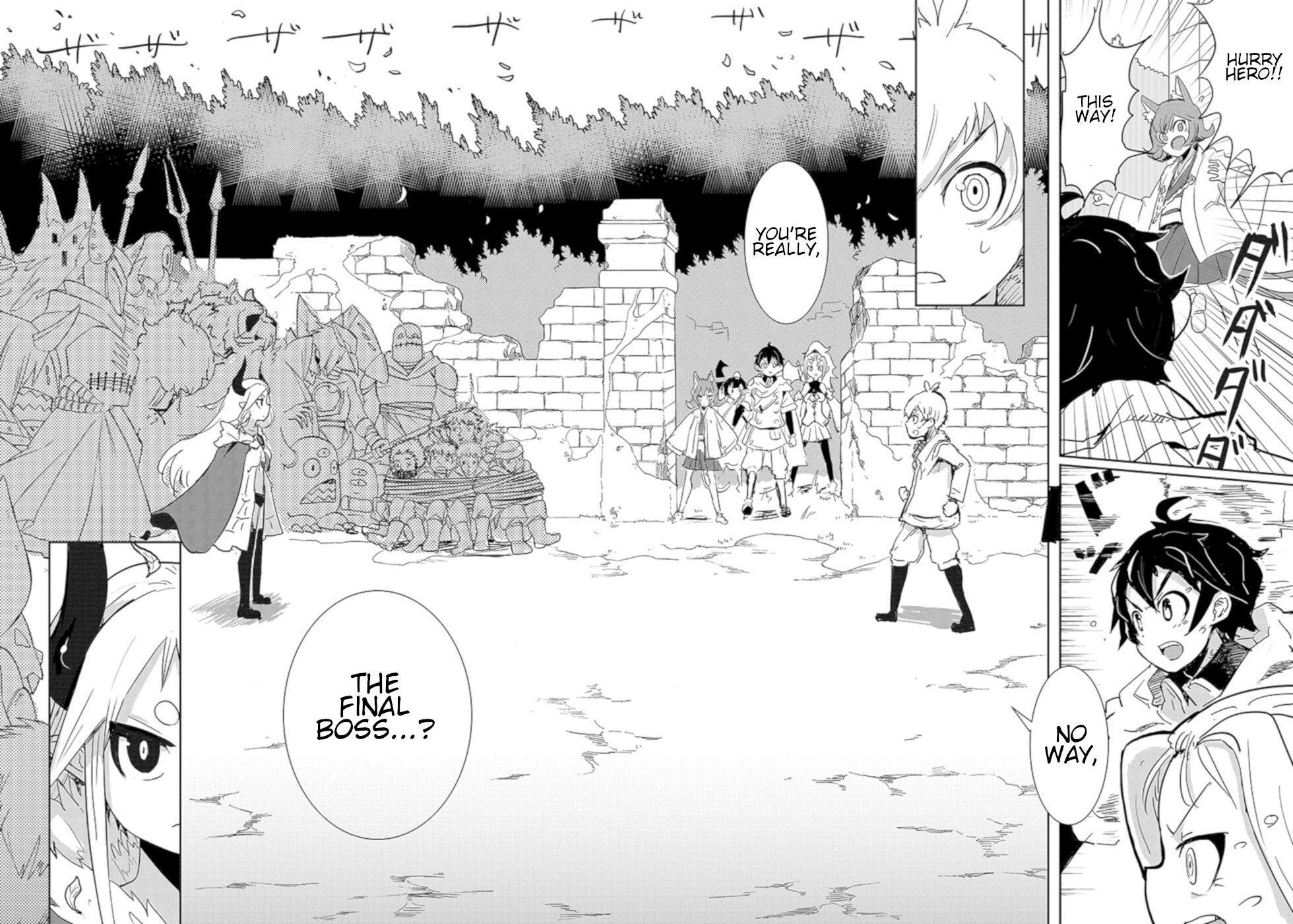 Manga Don't Cry Maou-chan - Chapter 11 Page 12