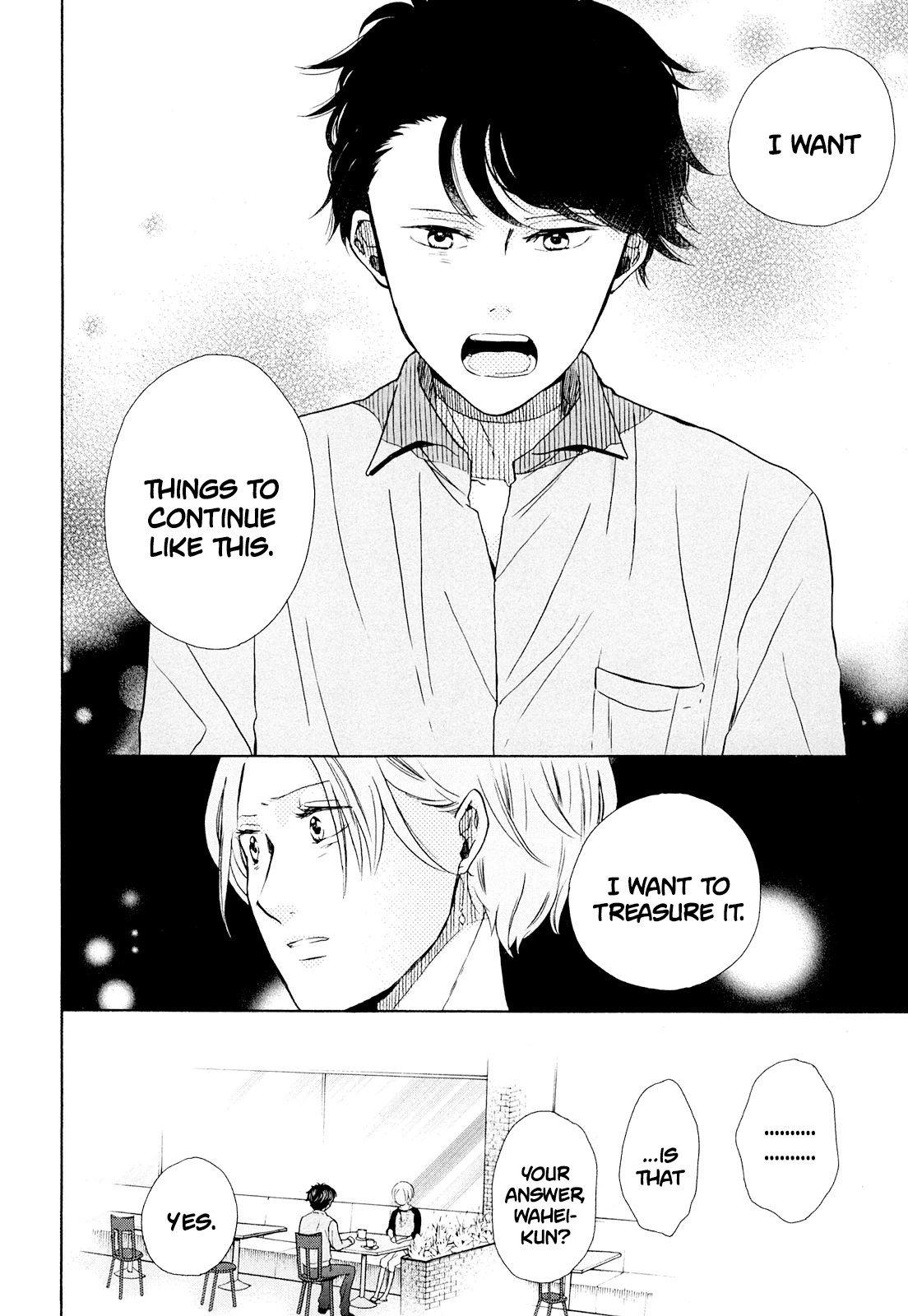 Manga Ohayou Toka Oyasumi Toka - Chapter 12 Page 28