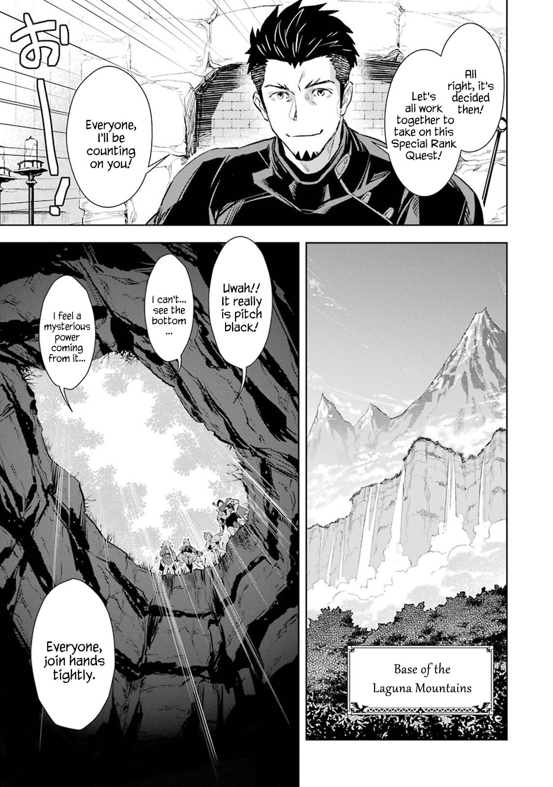 Manga The Ultimate Middle-Aged Hunter Travels to Another World ~This Time, He Wants to Live a Slow and Peaceful Life~ - Chapter 7.3 Page 12