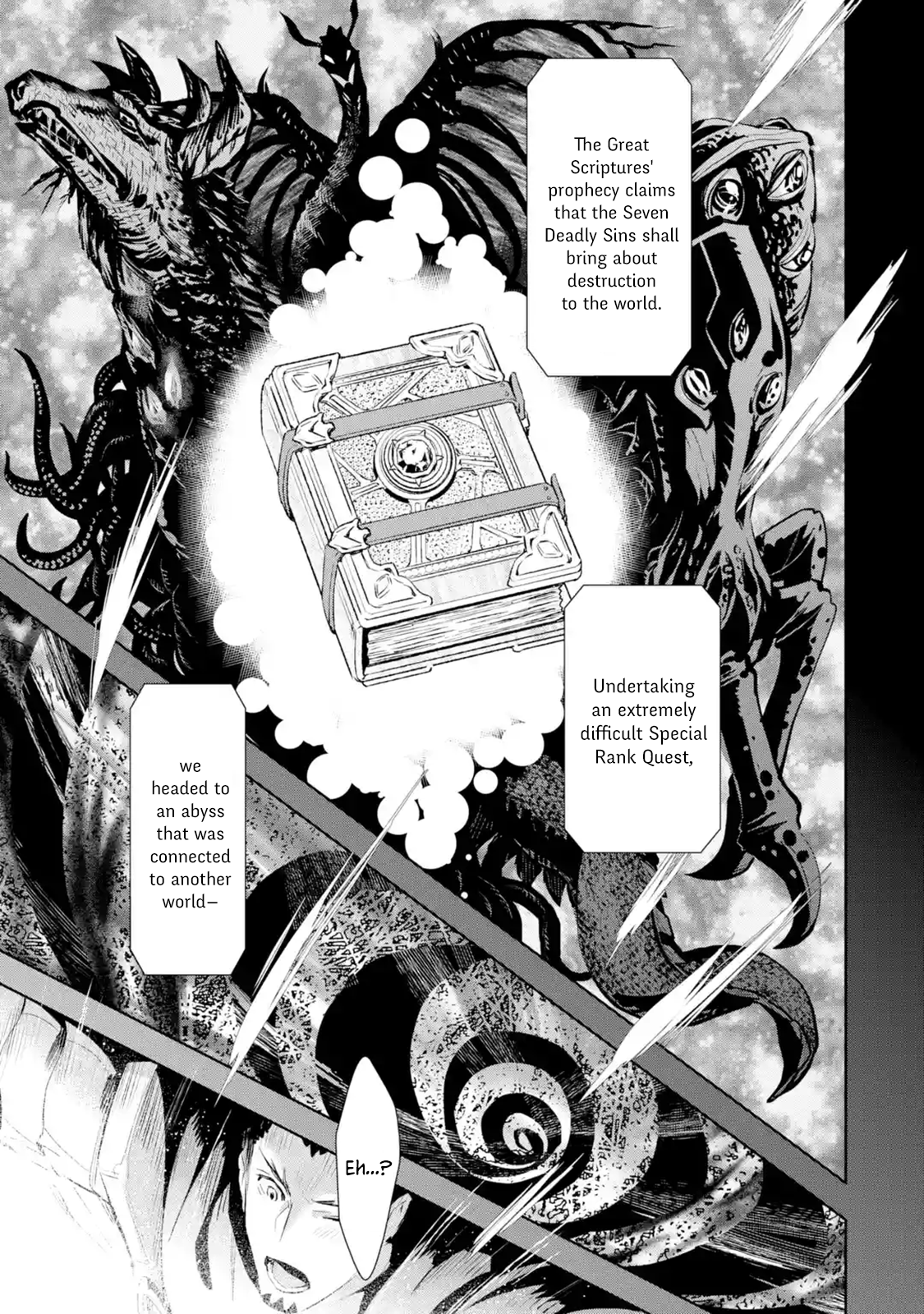 Manga The Ultimate Middle-Aged Hunter Travels to Another World ~This Time, He Wants to Live a Slow and Peaceful Life~ - Chapter 8.1 Page 1