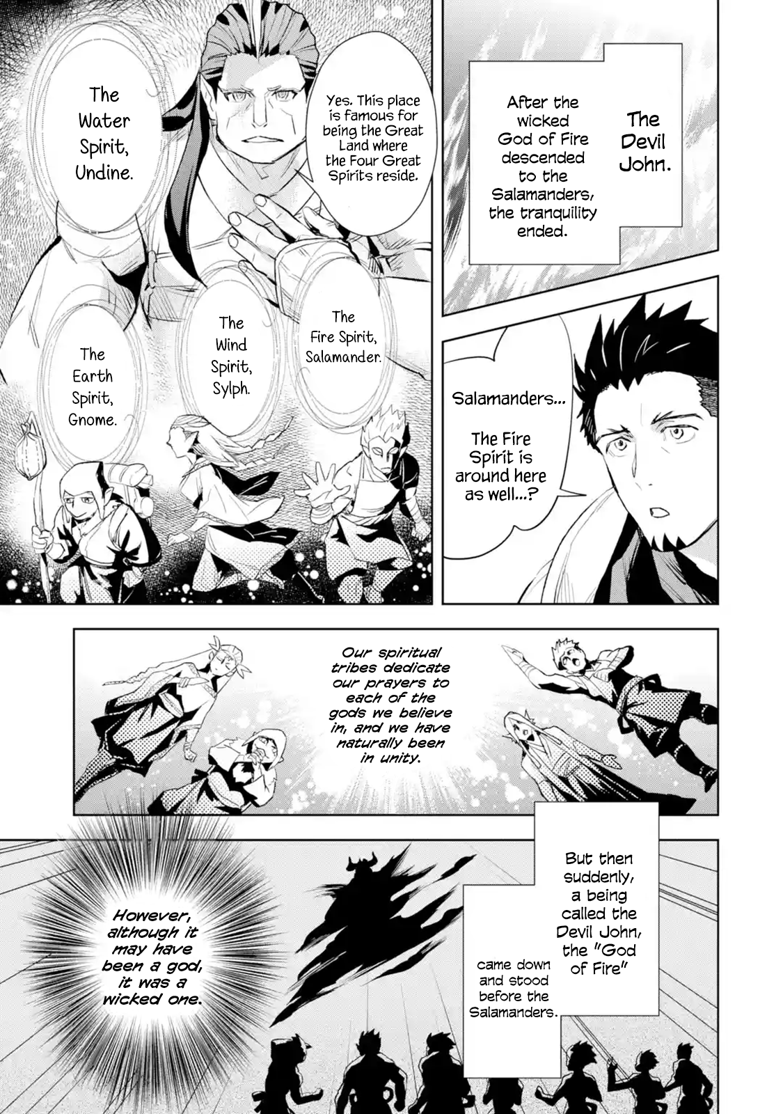 Manga The Ultimate Middle-Aged Hunter Travels to Another World ~This Time, He Wants to Live a Slow and Peaceful Life~ - Chapter 8.3 Page 7