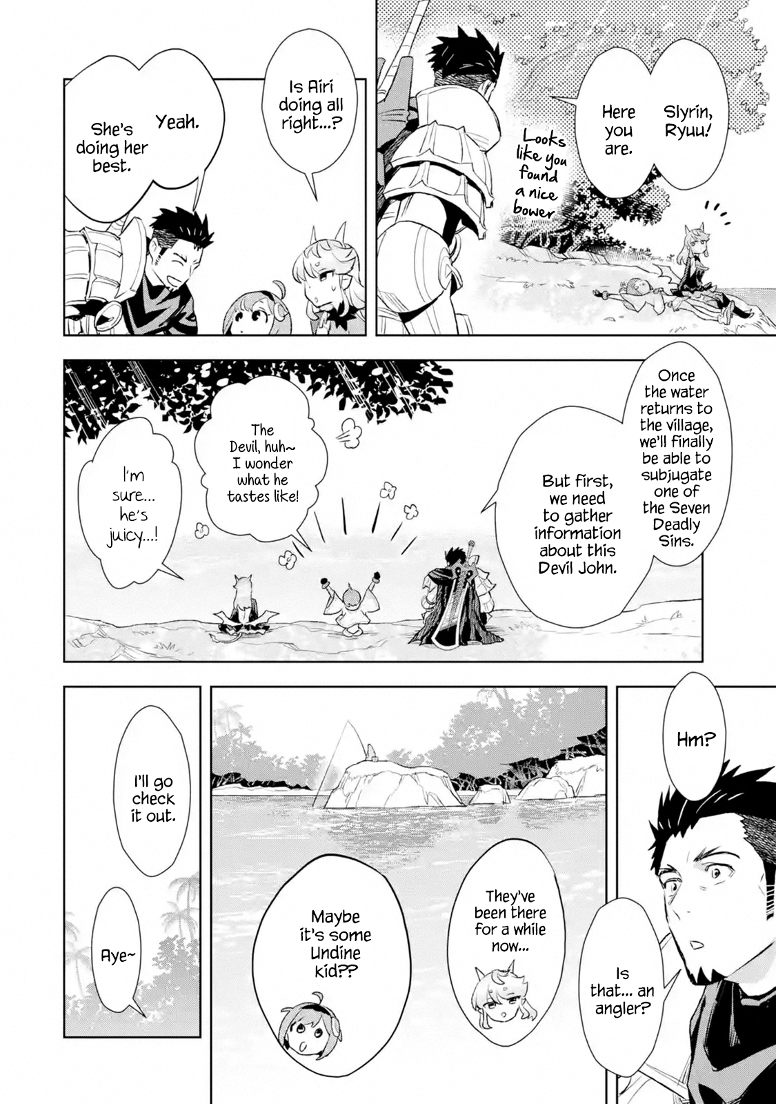 Manga The Ultimate Middle-Aged Hunter Travels to Another World ~This Time, He Wants to Live a Slow and Peaceful Life~ - Chapter 9.2 Page 10