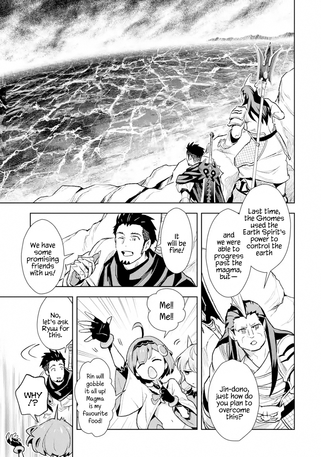 Manga The Ultimate Middle-Aged Hunter Travels to Another World ~This Time, He Wants to Live a Slow and Peaceful Life~ - Chapter 10.1 Page 7