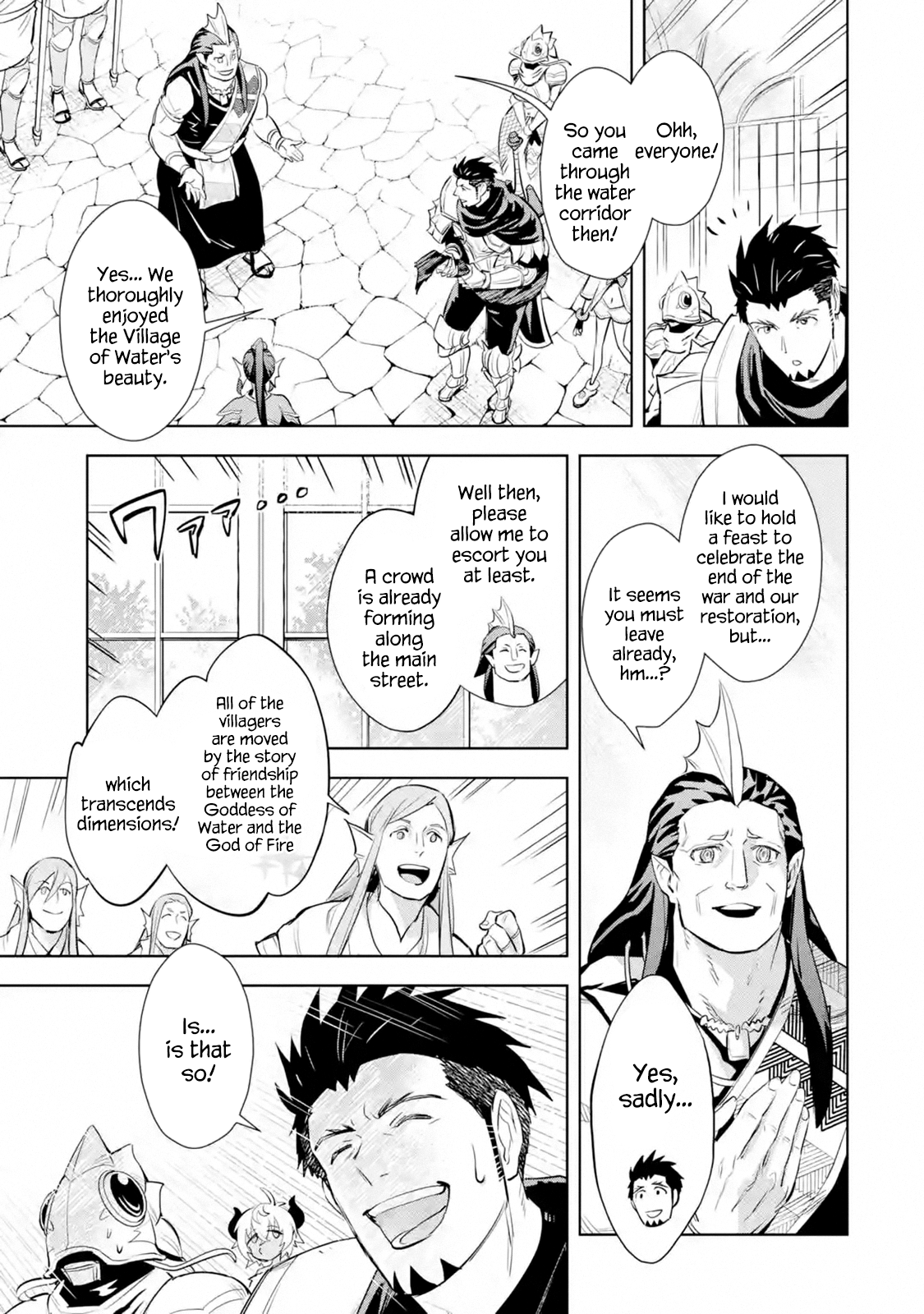Manga The Ultimate Middle-Aged Hunter Travels to Another World ~This Time, He Wants to Live a Slow and Peaceful Life~ - Chapter 12.3 Page 5