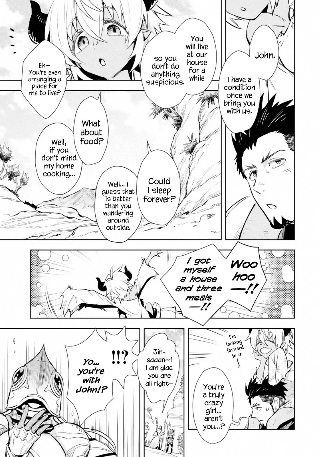Manga The Ultimate Middle-Aged Hunter Travels to Another World ~This Time, He Wants to Live a Slow and Peaceful Life~ - Chapter 12.1 Page 9