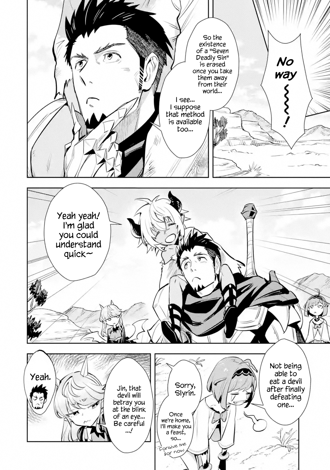 Manga The Ultimate Middle-Aged Hunter Travels to Another World ~This Time, He Wants to Live a Slow and Peaceful Life~ - Chapter 12.1 Page 8