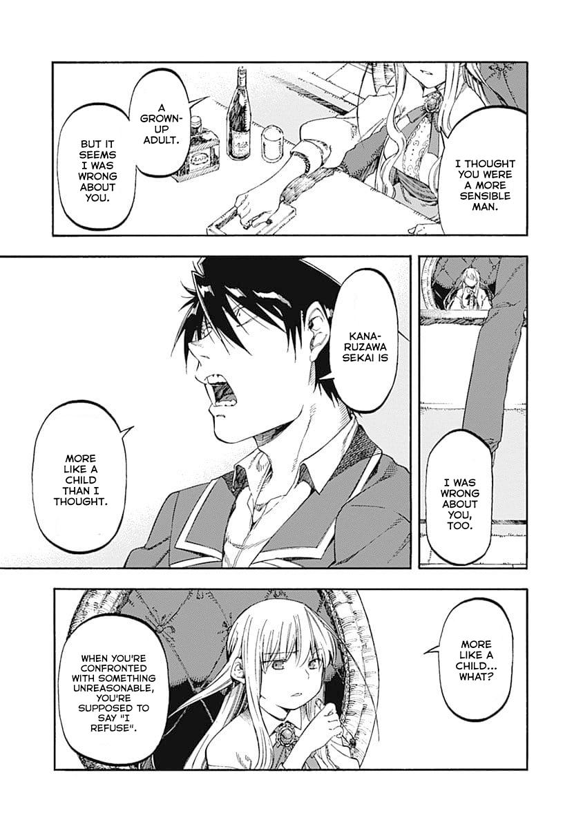 Manga Monku no Tsukeyou ga Nai Love Comedy - Chapter 45 Page 7
