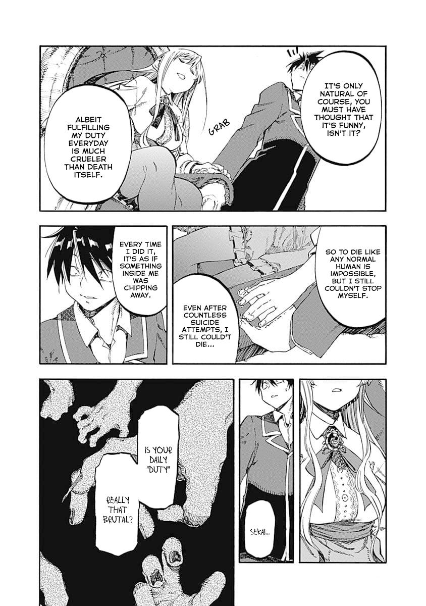 Manga Monku no Tsukeyou ga Nai Love Comedy - Chapter 46 Page 8