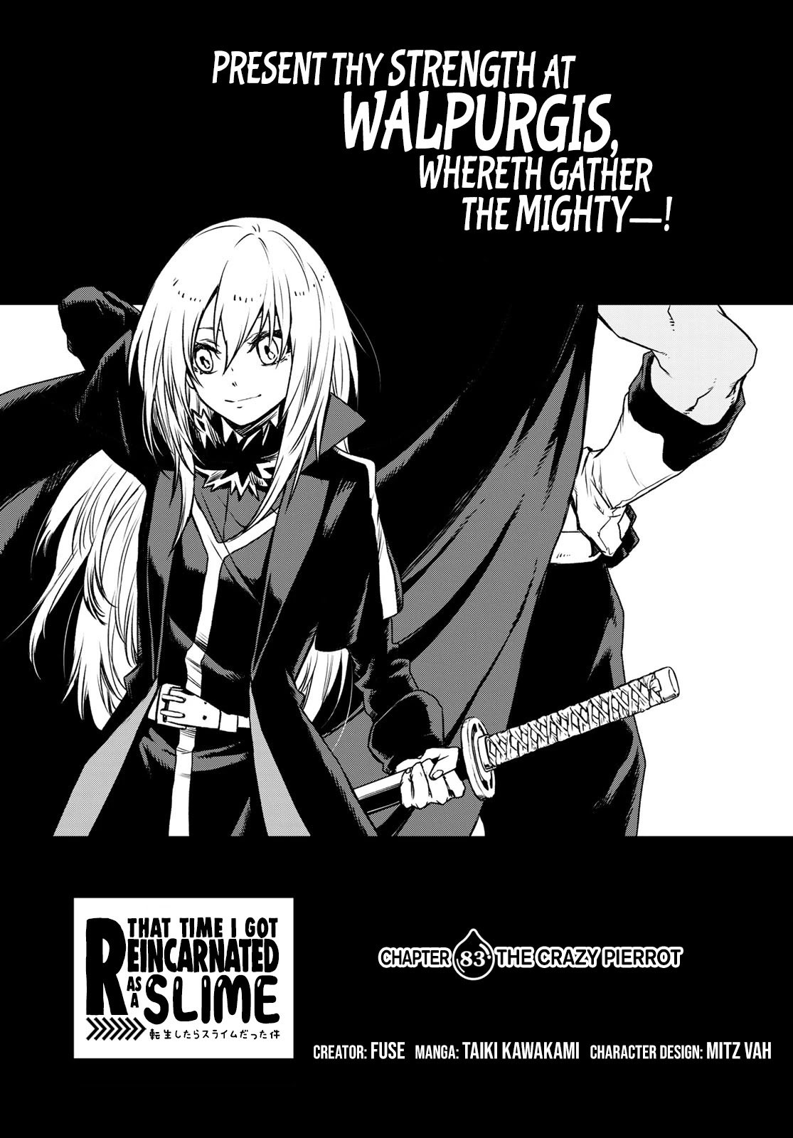 Manga That Time I Got Reincarnated as a Slime - Chapter 83 Page 1