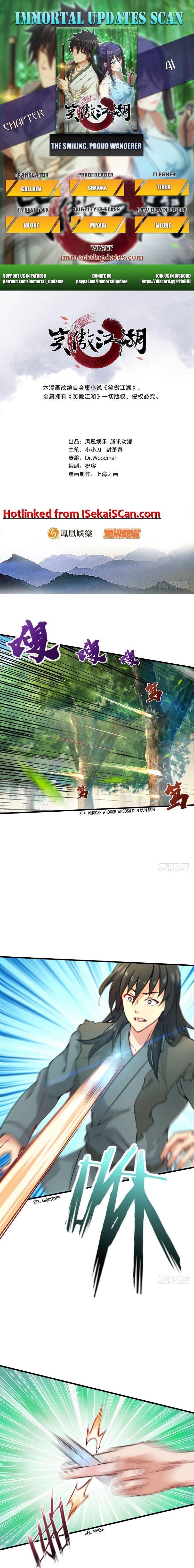 Manga The Smiling, Proud Wanderer (Swordsman) - Chapter 41 Page 1