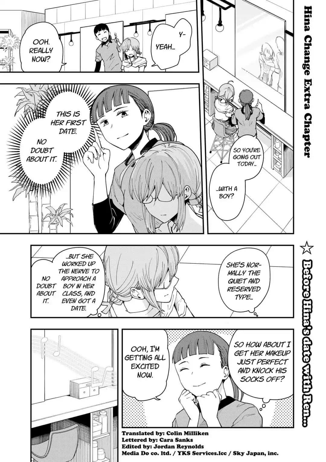 Manga Hina Change - Chapter 14.5 Page 1