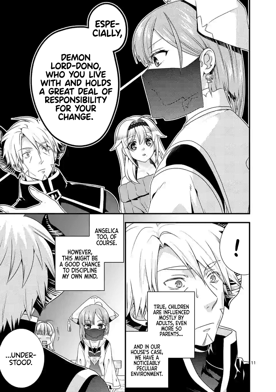 Manga I Am A Demon King. I Got Remarried to A Mother of A Brave Woman, So She Became My Daughter-In-Law. - Chapter 32 Page 12