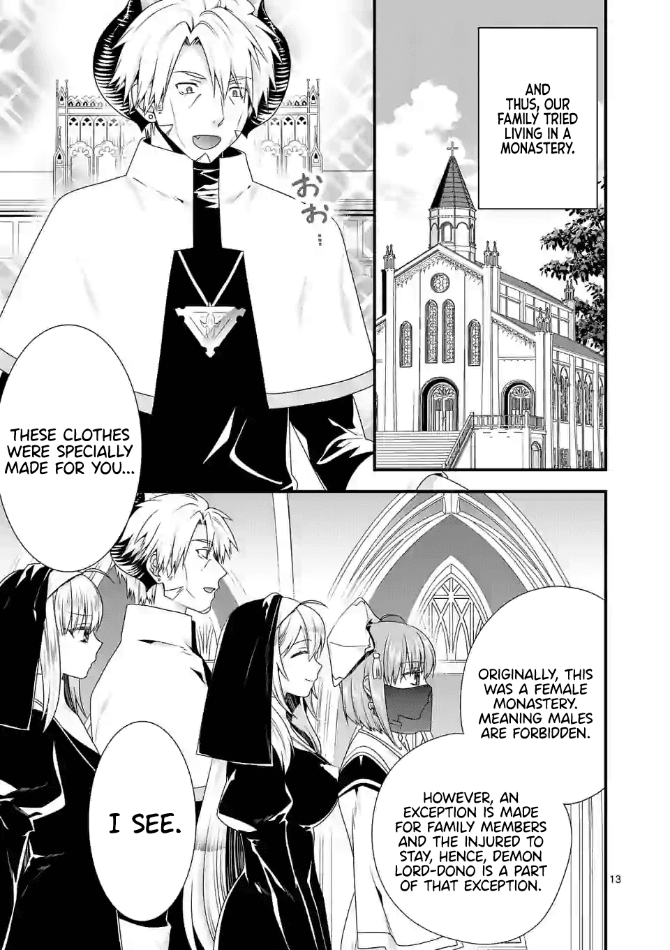 Manga I Am A Demon King. I Got Remarried to A Mother of A Brave Woman, So She Became My Daughter-In-Law. - Chapter 32 Page 14