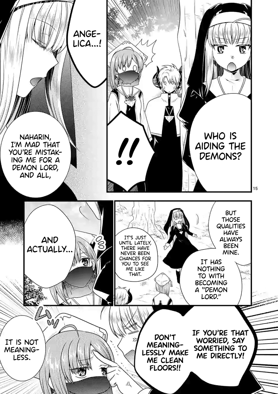 Manga I Am A Demon King. I Got Remarried to A Mother of A Brave Woman, So She Became My Daughter-In-Law. - Chapter 33 Page 16