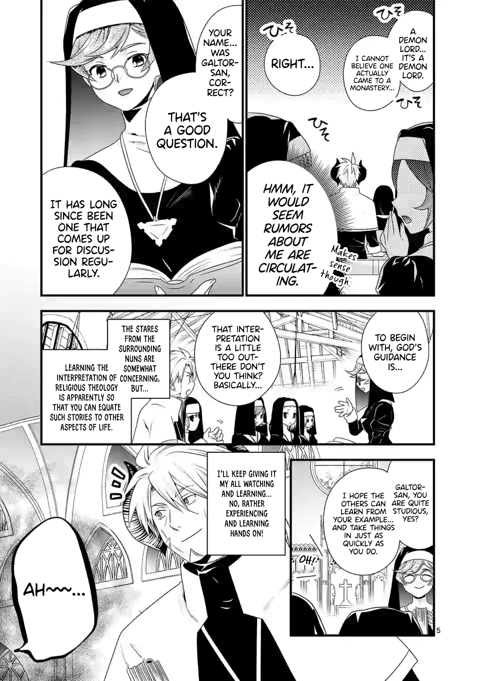 Manga I Am A Demon King. I Got Remarried to A Mother of A Brave Woman, So She Became My Daughter-In-Law. - Chapter 33 Page 6