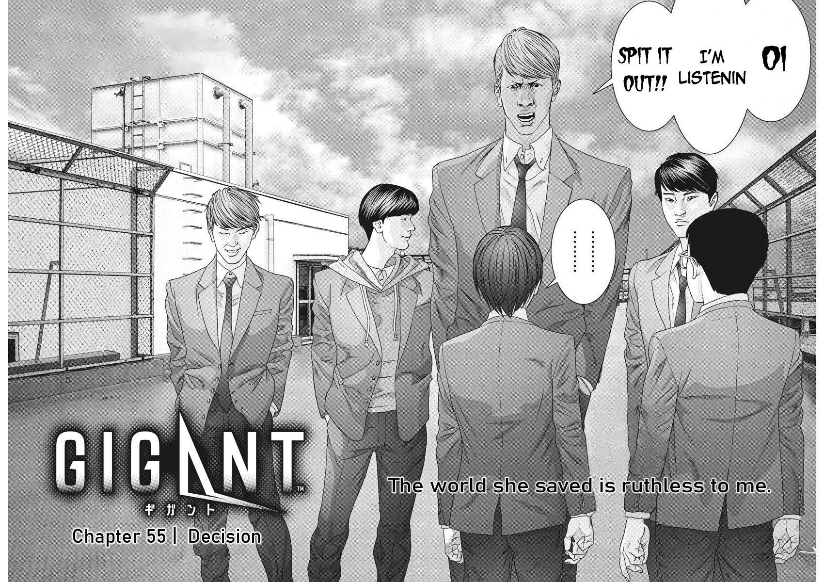 Manga GIGANT - Chapter 55 Page 2