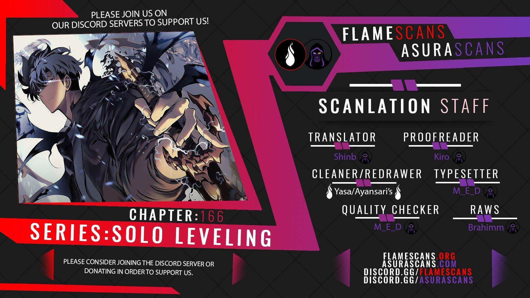 Manga Solo Leveling - Chapter 166 Page 1