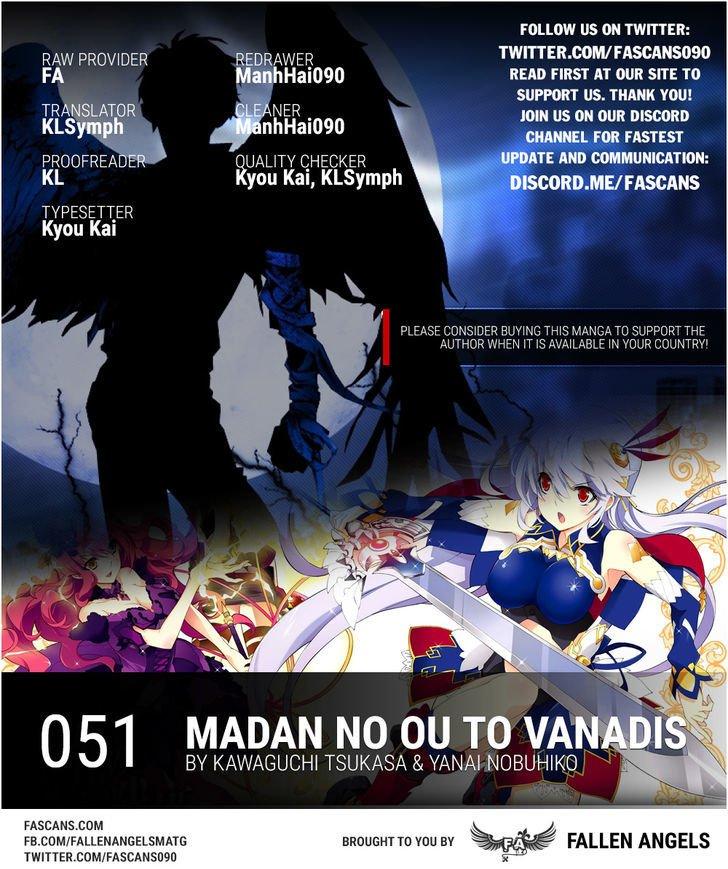 Manga Madan No Ou To Vanadis - Chapter 51 Page 1