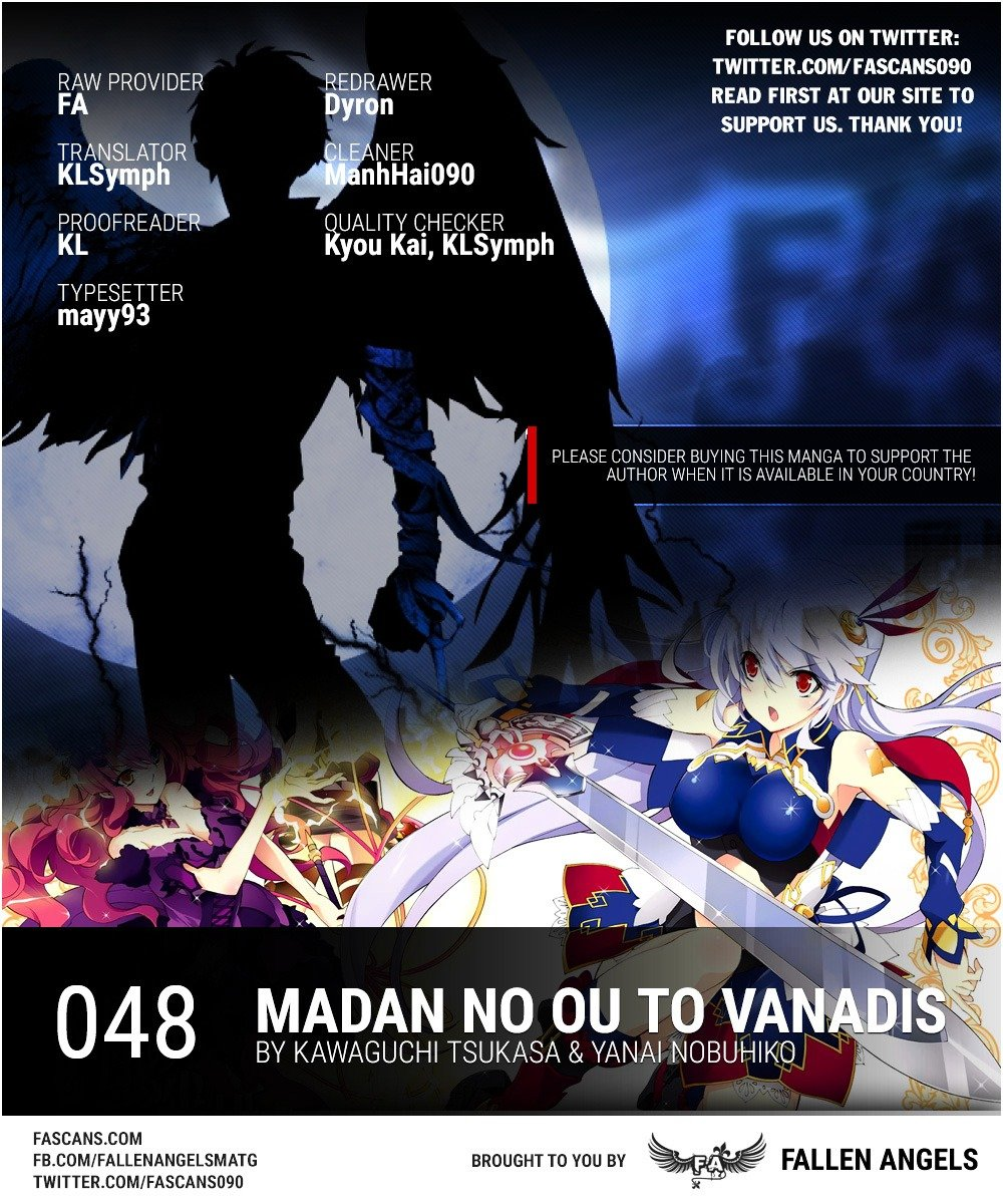 Manga Madan No Ou To Vanadis - Chapter 48 Page 1
