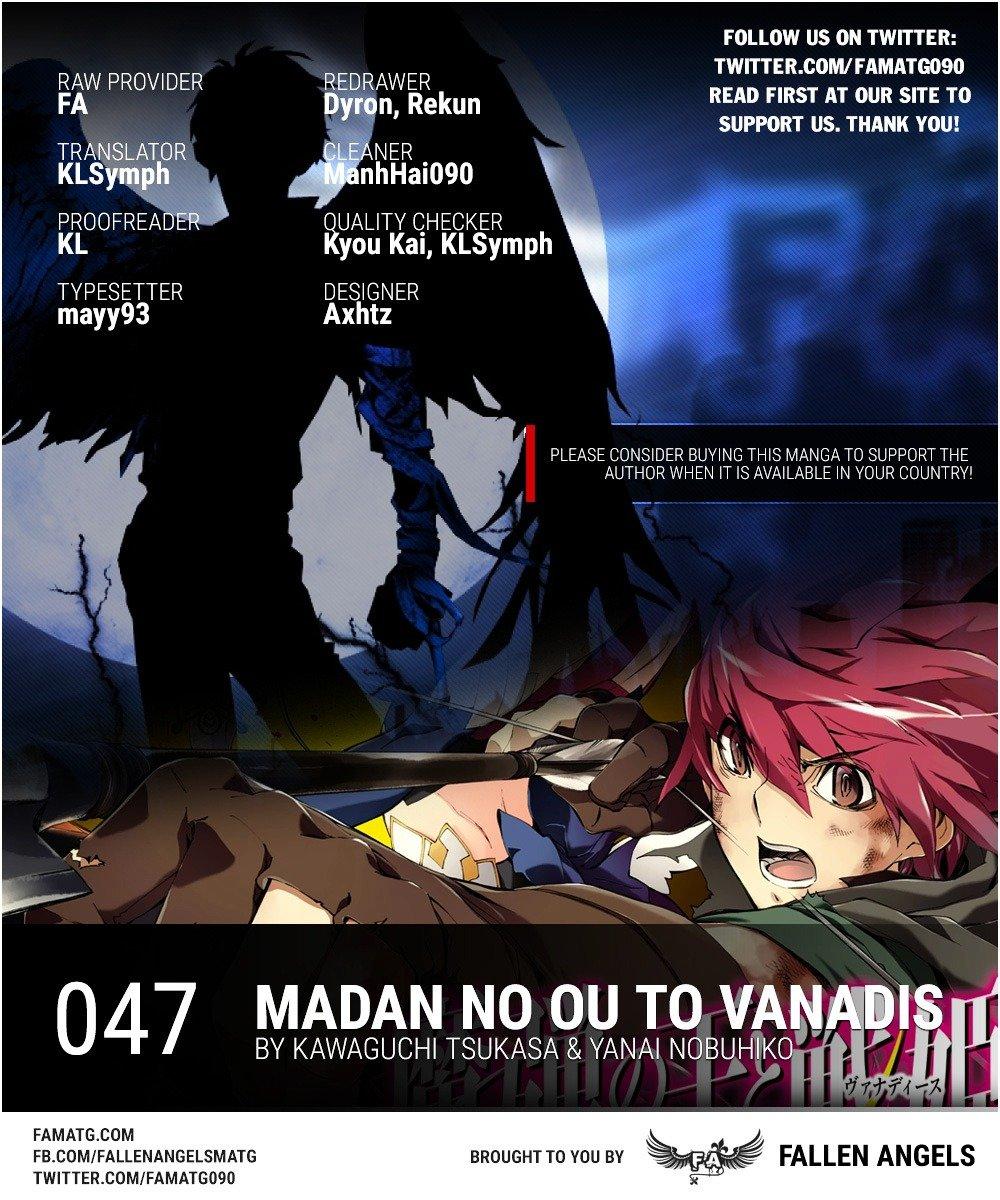 Manga Madan No Ou To Vanadis - Chapter 47 Page 1