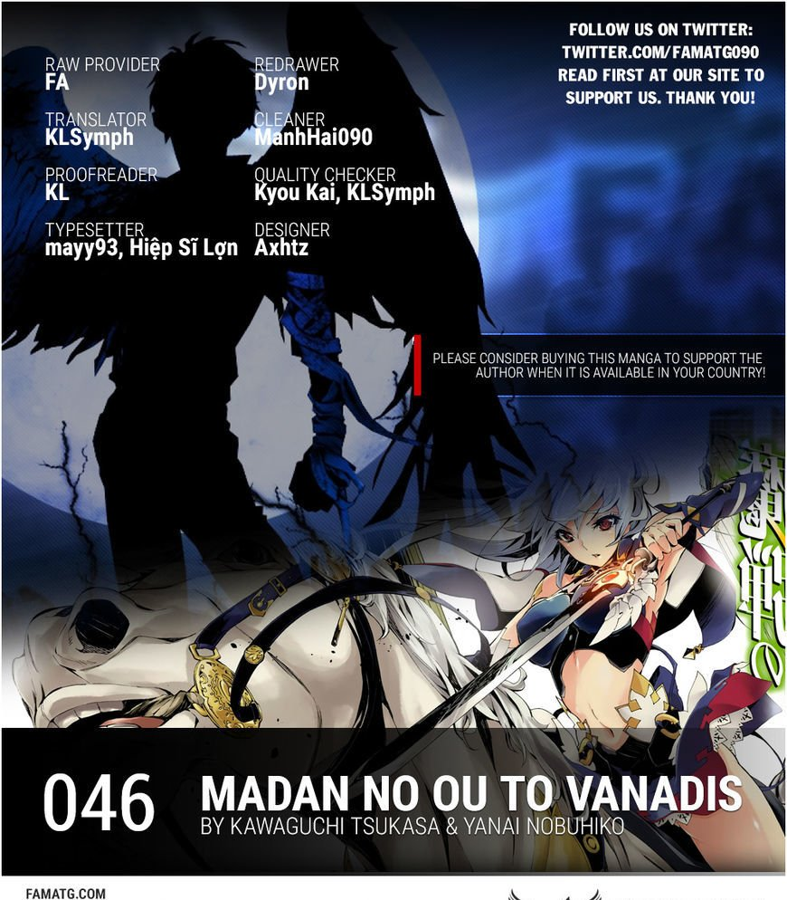 Manga Madan No Ou To Vanadis - Chapter 46 Page 1
