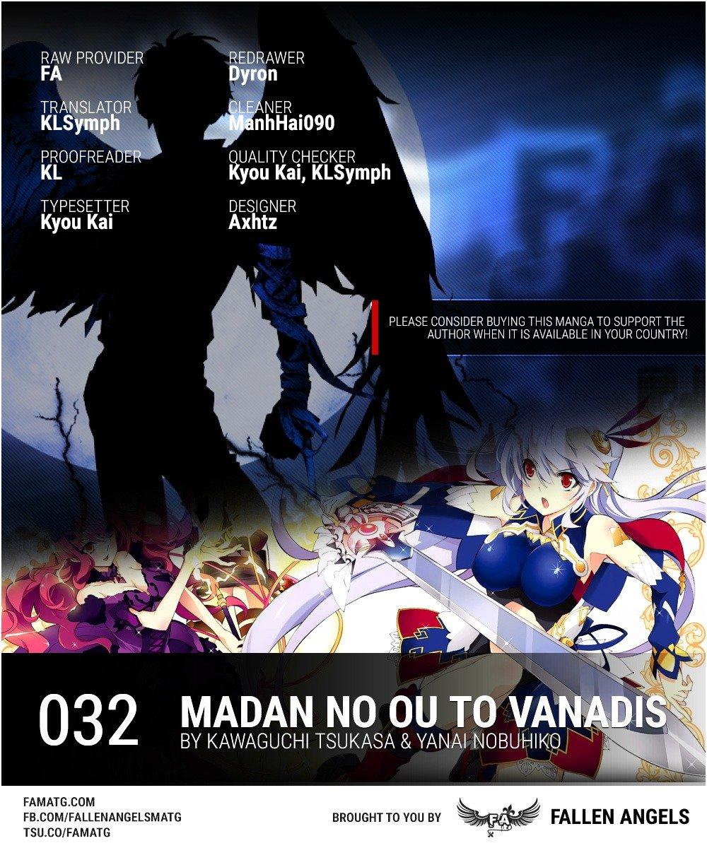 Manga Madan No Ou To Vanadis - Chapter 32.2 Page 1