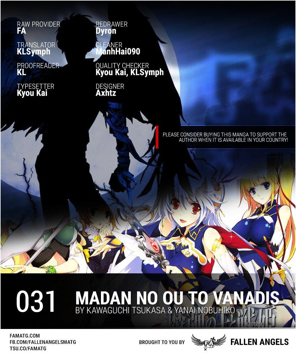 Manga Madan No Ou To Vanadis - Chapter 31.2 Page 1