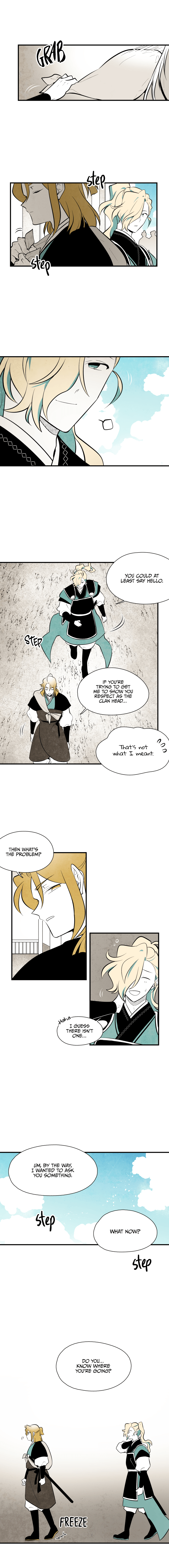 Manga The Flower That Was Bloomed By A Cloud - Chapter 71 Page 1