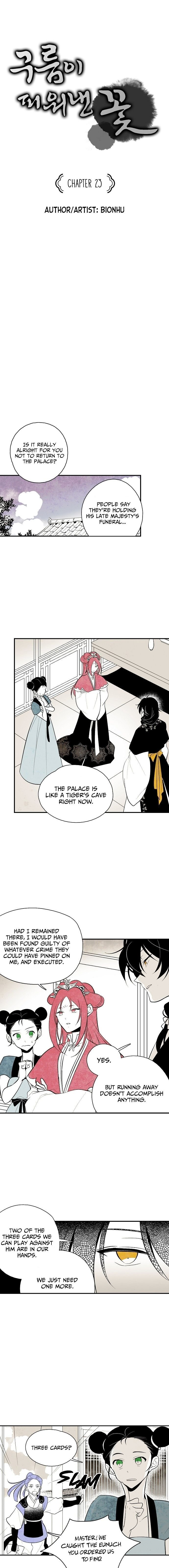 Manga The Flower That Was Bloomed By A Cloud - Chapter 23 Page 1