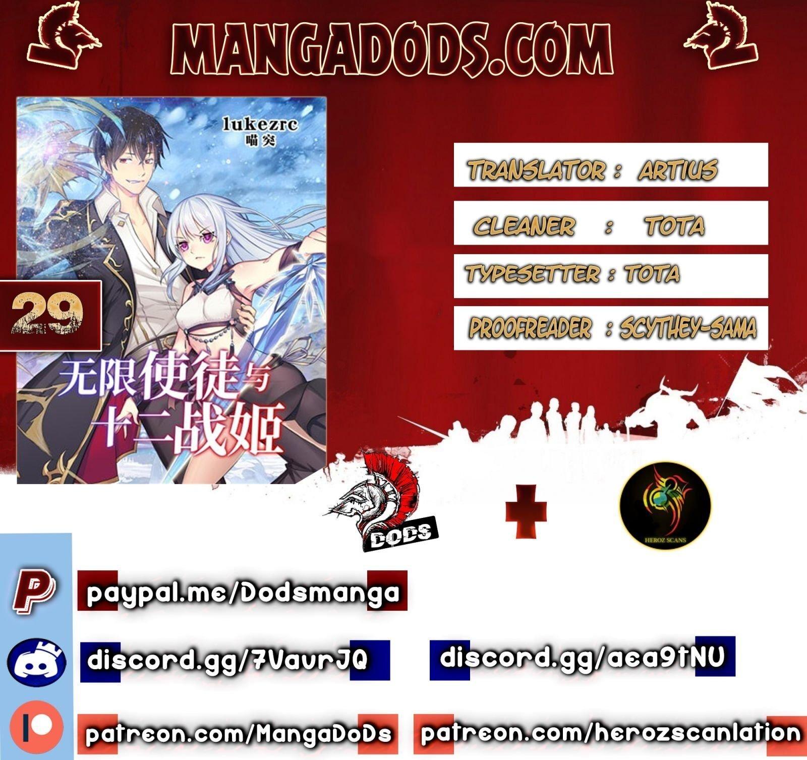 Manga Infinite Apostles And Twelve War Girls - Chapter 29 Page 1